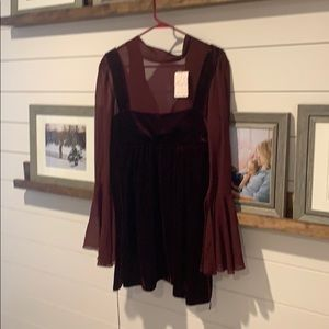 NWT Free People Counting stars